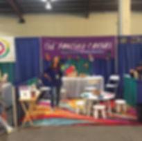 Del Mar Kids Expo - Expressive Arts Booth
