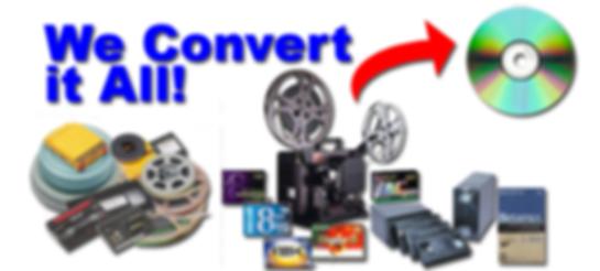 We Convert all Formats