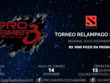 Torneo Relampago Dota 2 PRO GAMERS Cochabamba