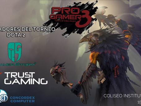 Auspiciadores para el Torneo Relampago Pro Gamers 3