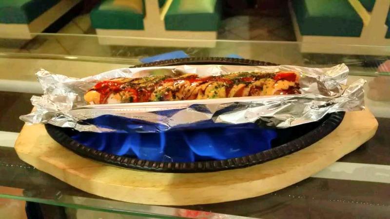 BBQ sushi roll