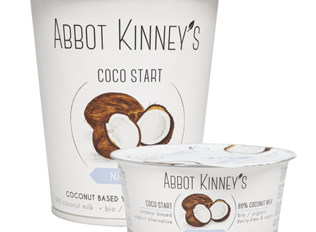 Nuevos yogures veganos de coco Abbot Kinney's.