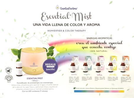 Nuevo humidificador para aromas naturales