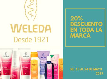 ¡20% de descuento en Weleda!