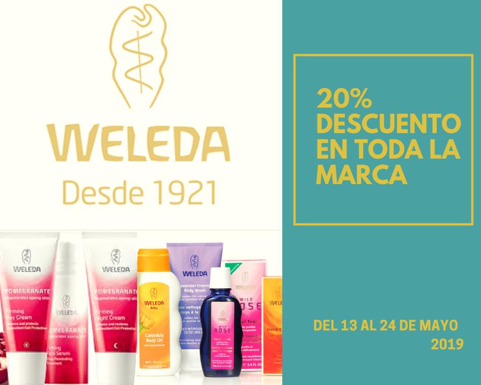 20% descuento en Weleda