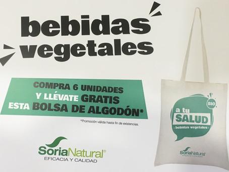 Nuevas Bebidas vegetales de Soria Natural ¡Ven a probarlas!