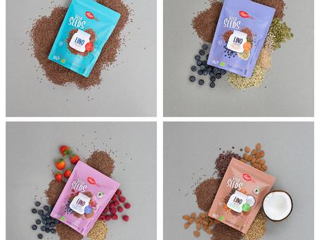 Degustación de Vita seeds y yogures de coco Abbot y Kinney´s.