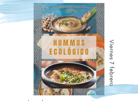 Degustación de Hummus Biogra