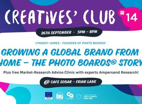 Market Research Advice Clinic at Creatives' Club #14