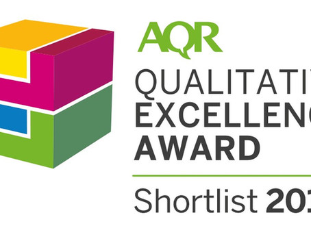 A big thank you to the Association for Qualitative Research!!!