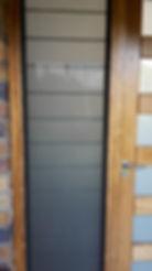 New mesh on timber door