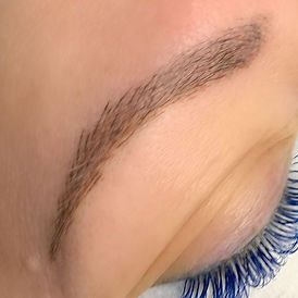 12 weeks healed microblading!  The strok