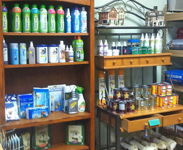 Shampoos, flea & tick control and more