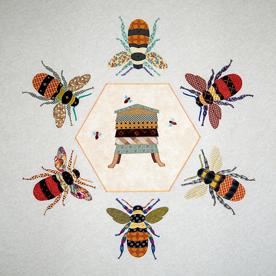 Six Bees & hive.jpg