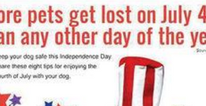 Keep everyone safe this 4th of July