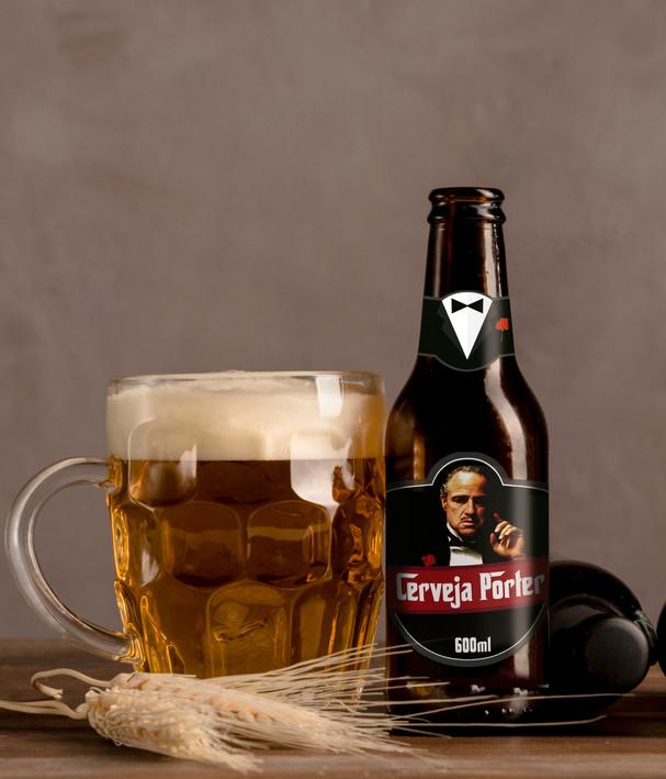 Rótulo Cerveja personalizada