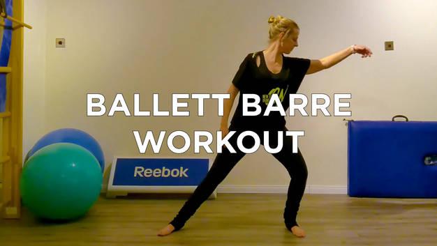 Ballett Barre Workout