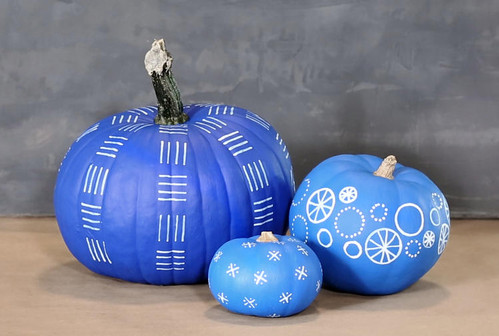 No Carve Painted Pumpkins