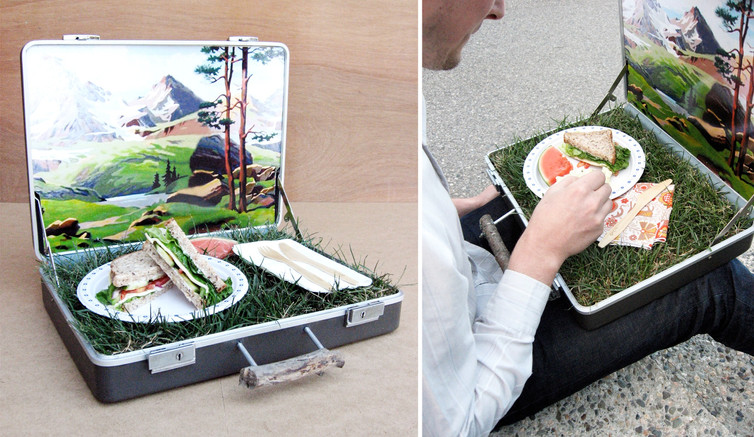 Green Space Travel Case