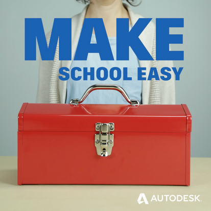 Autodesk in Education social graphic