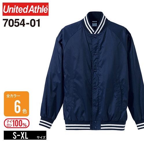 United Athle(ユナイテッドアスレ) | 7054-01 ナイロンスタジアムジャケット(一重) S-XL