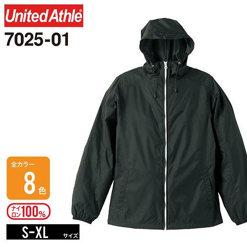 United Athle(ユナイテッドアスレ) | 7025-01 ナイロンフルジップジャケット(一重) S-XL