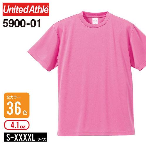 United Athle(ユナイテッドアスレ) | 5900−01 02 4.1オンス ドライアスレチックTシャツ メンズ,キッズ,レディース