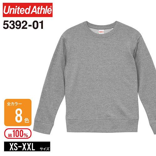 United Athle(ユナイテッドアスレ) | 5392-01 9.3オンス レギュラーパイルクルーネックスウェット XS-XXL