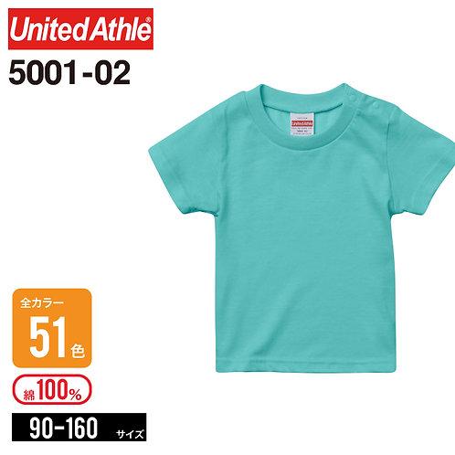 United Athle(ユナイテッドアスレ) | 5001−02 5.6オンス ハイクオリティーTシャツ | 90cm-160cm