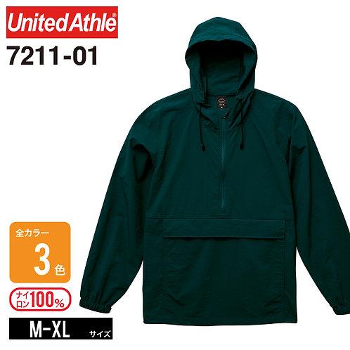 United Athle(ユナイテッドアスレ)   7211-01 コットンライクナイロンアノラックパーカ(一重) M-XL
