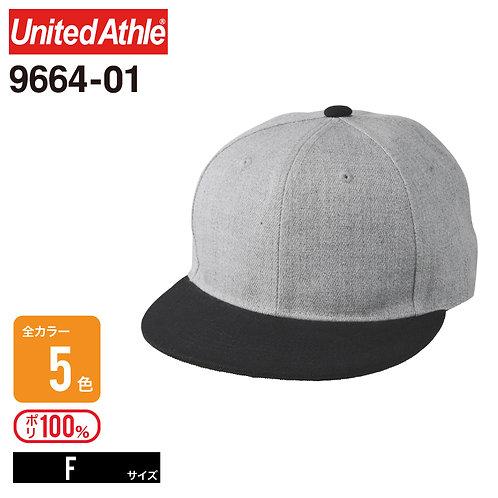 United Athle(ユナイテッドアスレ) | 9664-01 フラットバイザースナップバックキャップ F