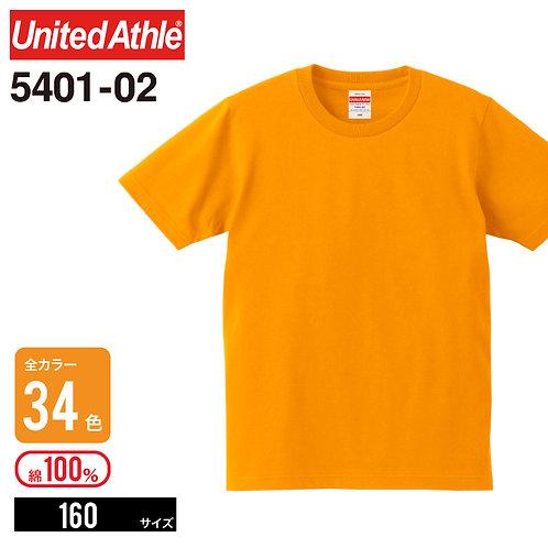 United Athle(ユナイテッドアスレ)   5401−02 5.0オンス レギュラーフィットTシャツ 160cm