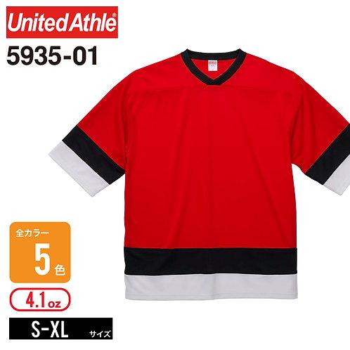 United Athle(ユナイテッドアスレ) | 5935-01 4.1オンス ドライホッケーTシャツ S-XL