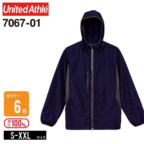 United Athle(ユナイテッドアスレ) | 7067-01 マイクロリップストップジップジャケット(裏地付) S-XXL