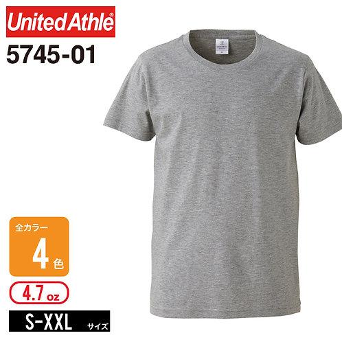United Athle(ユナイテッドアスレ) | 5745-01 4.7オンス ファインジャージーTシャツ S,M,L,XL,XXL