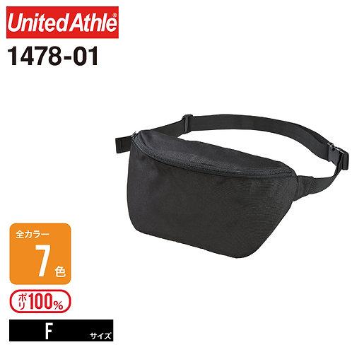 United Athle(ユナイテッドアスレ) | 1478-01 600Dポリエステルボディバッグ F