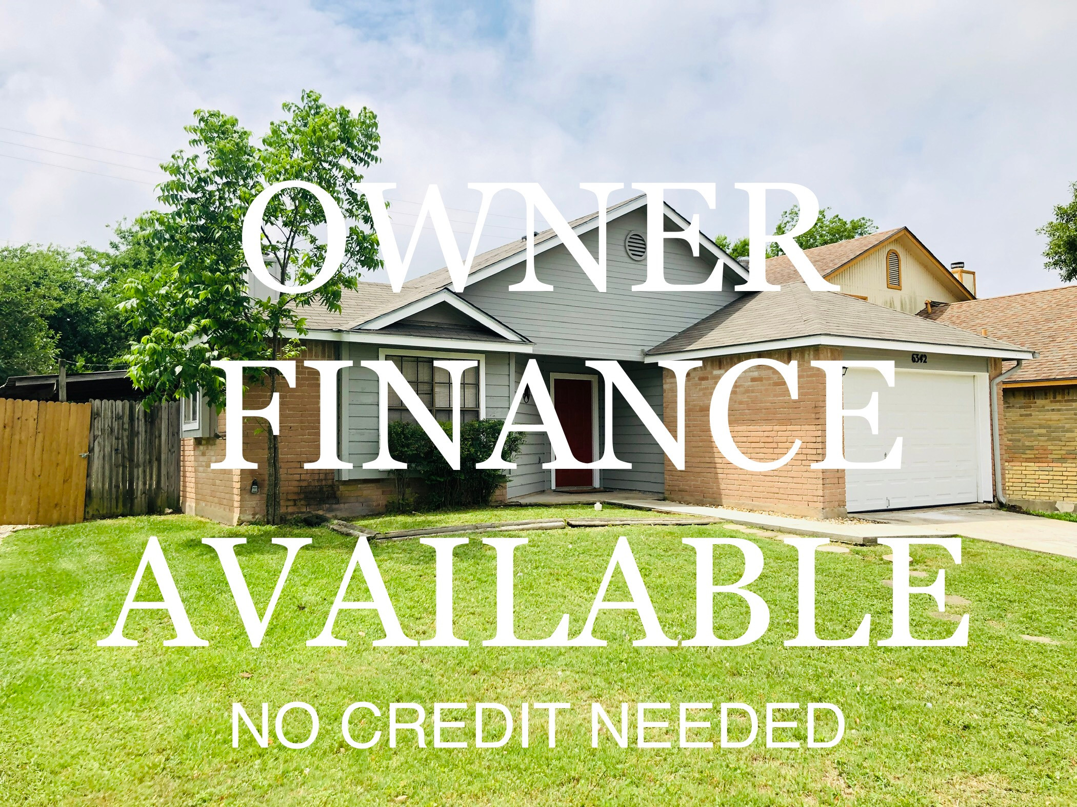 Owner Financed Homes In San Antonio, TX