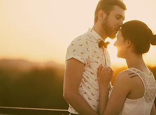 Rétro mariée et le marié