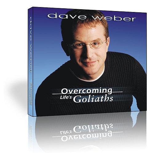 """Overcoming Life's Goliaths"" - CD"