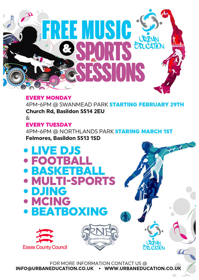 Free Music & Sports Sessions
