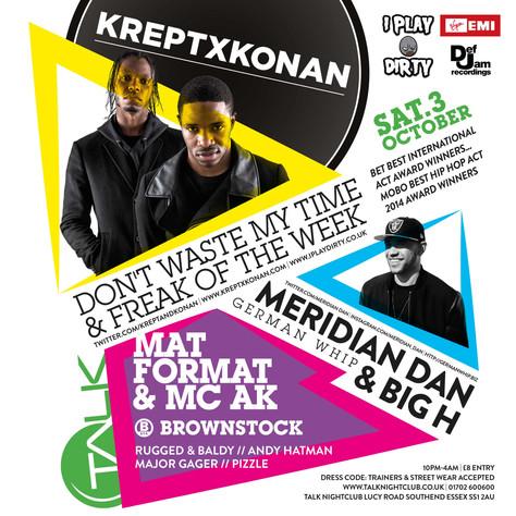 Krept & Konan Set For Southend