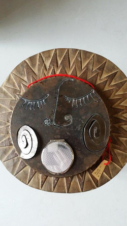 LYK_-_Sculpture_Art_Récup_-_Miroir_insolite