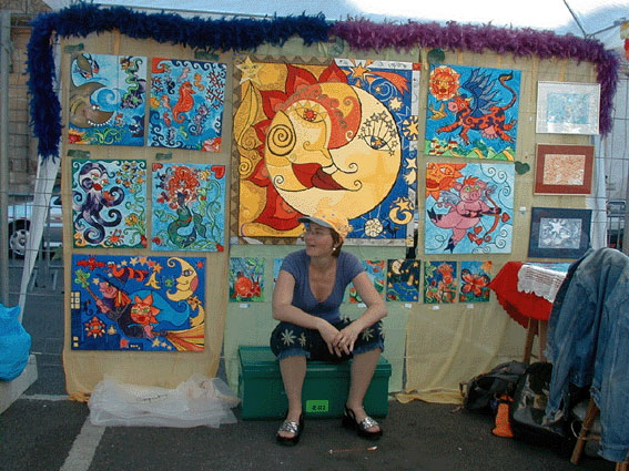 Rue des Art Festival - Nancy 2001