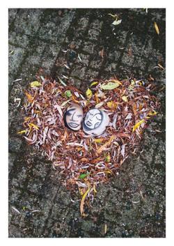 LYK - Z'Amoureux sur Nid de feuilles