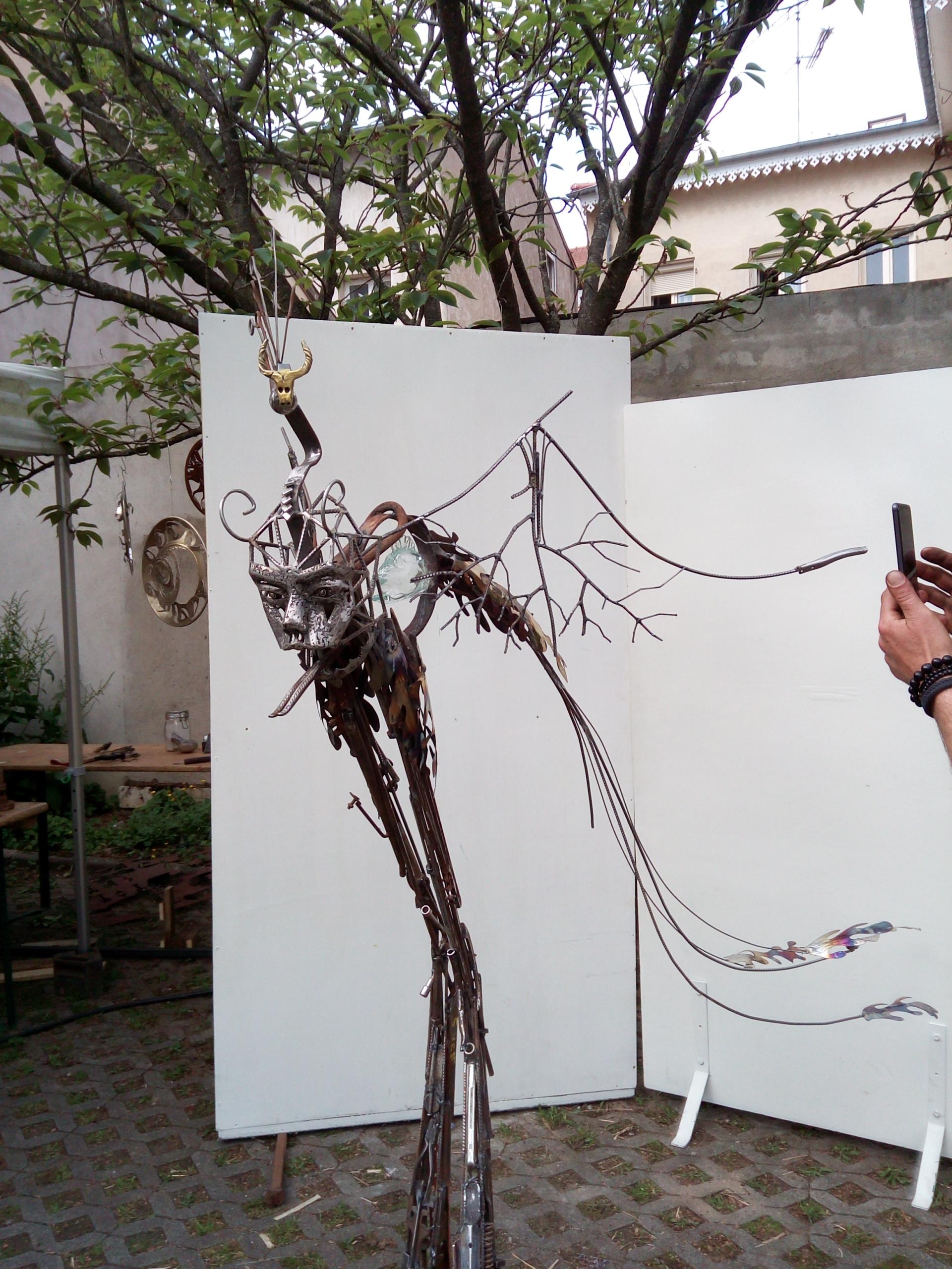 Oeuvre collective-Sculpture en ville-3-2