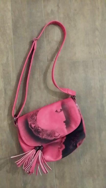 016-Vintage-Rose bonbon et friandises-29x25cm