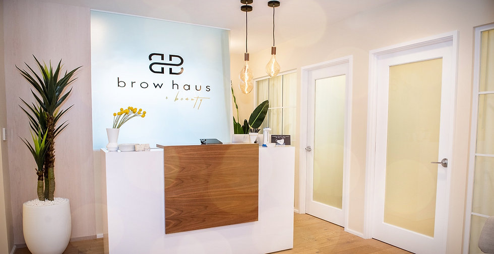 brow haus + beauty's gorgeous new location