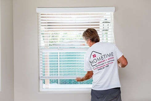 Custom window coverings roller shades honeycomb shutters dual shades