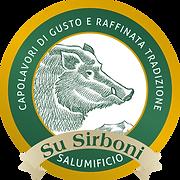 logo ufficiale salumificio su sirboni