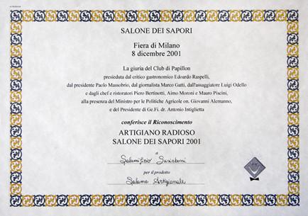 Premio Artigiano Radioso Salumificio Su Sirboni